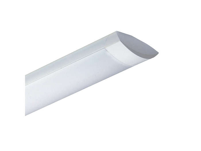 Modella TCS125 surface-mounted luminaire with opal diffuser (O)