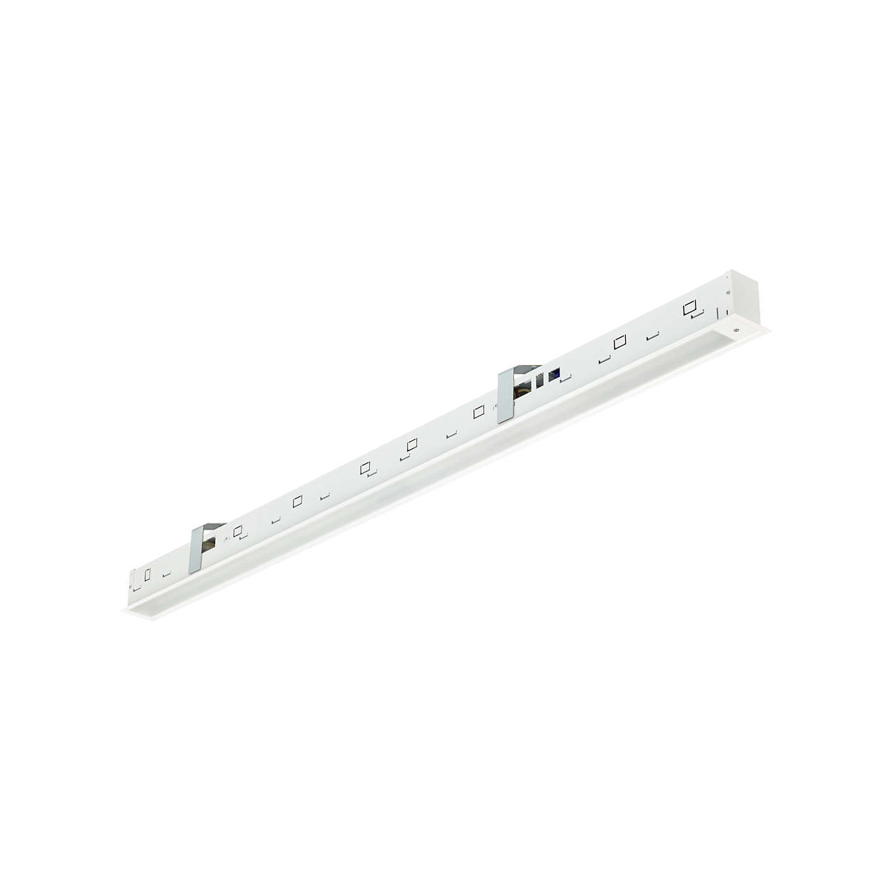 TrueLine, recessed – True line of light: elegant, energy-efficient and compliant with office lighting norms