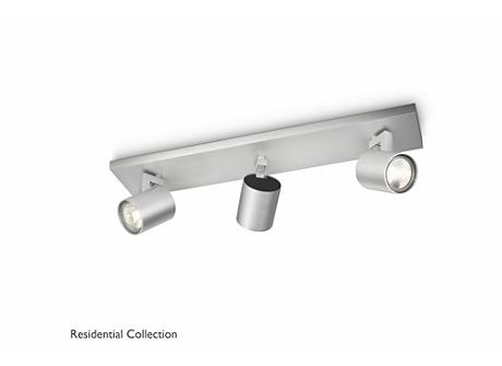 Runner bar/tube aluminium 3x50W 230V