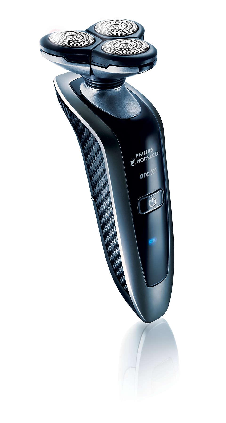 Our most advanced razor