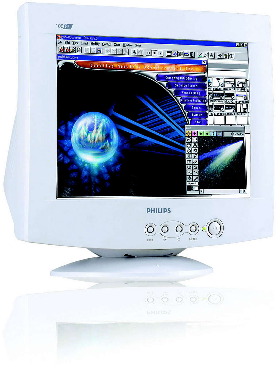 great CRT value and quality plus lead-free design