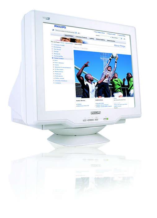 Hochleistungsfähige digitalisierte Real Flat CRT-Bildröhre
