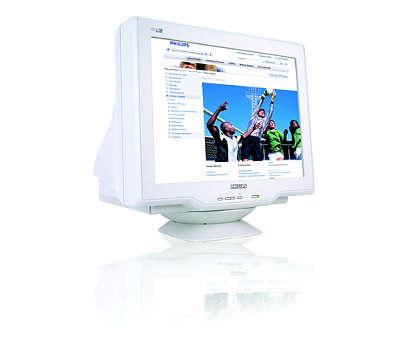 CRT Real Flat digitalizzato ad alte prestazioni