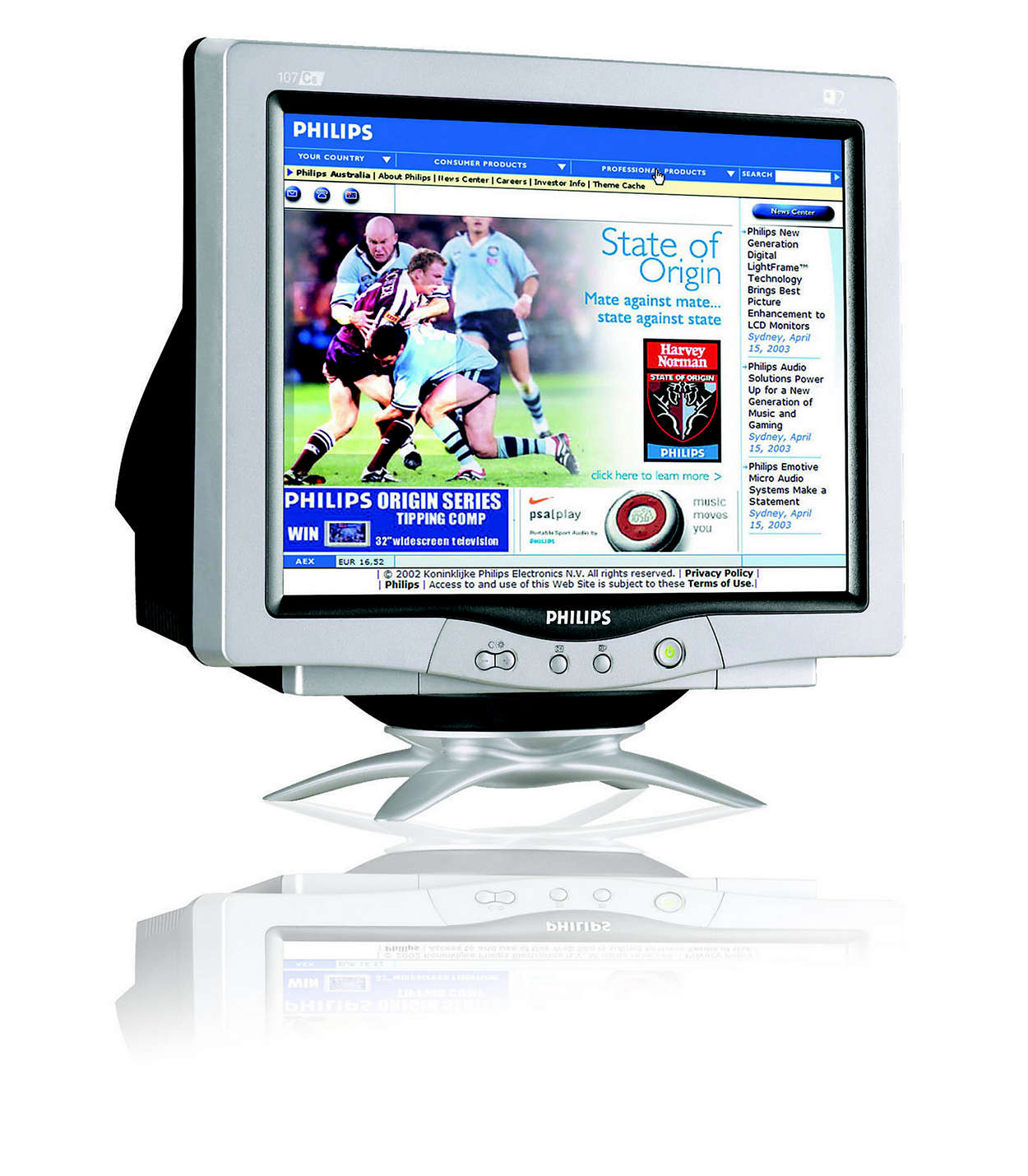 digitalized CRT plus style and lead-free design