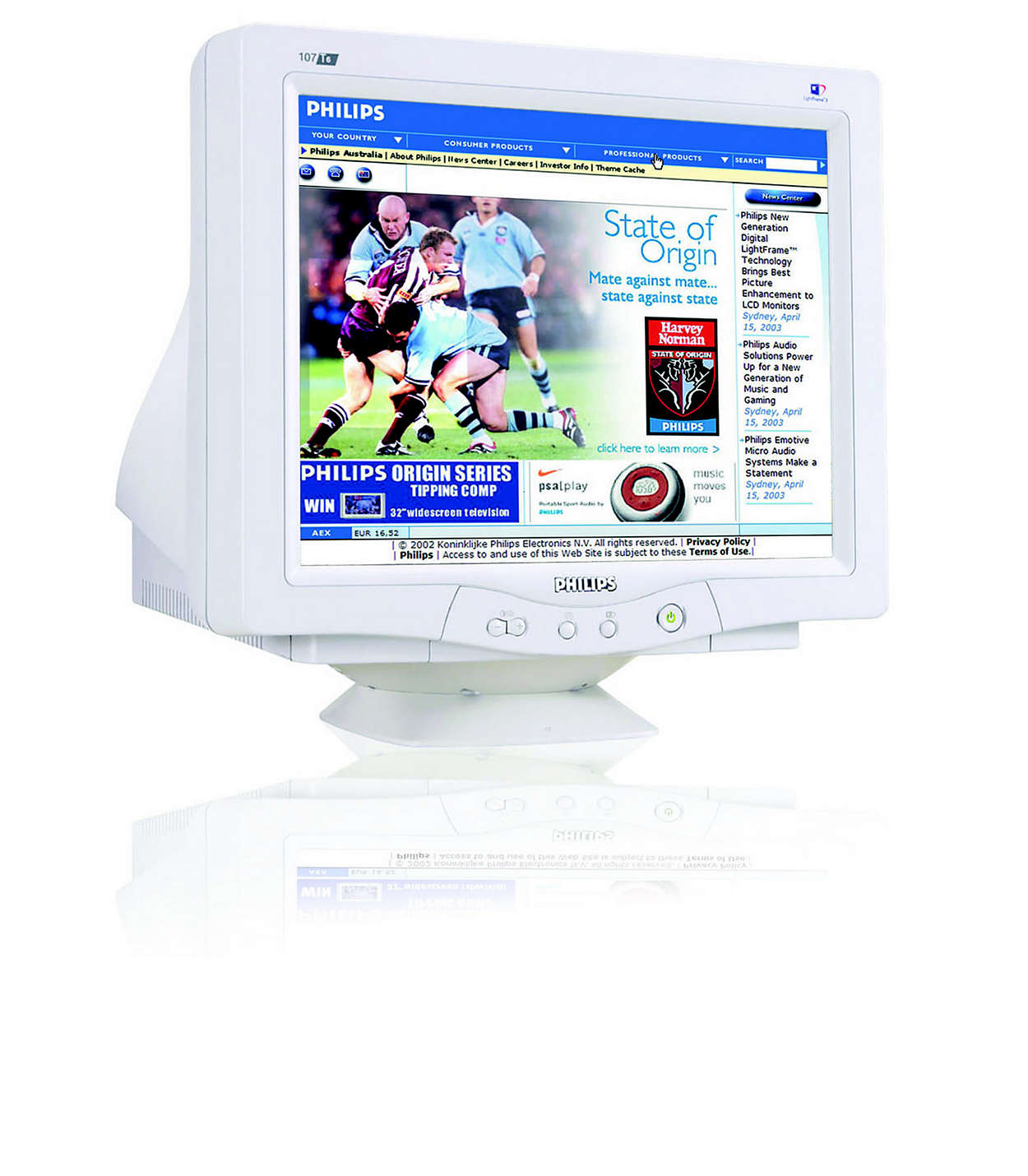loodvrije digitale CRT met LightFrame™