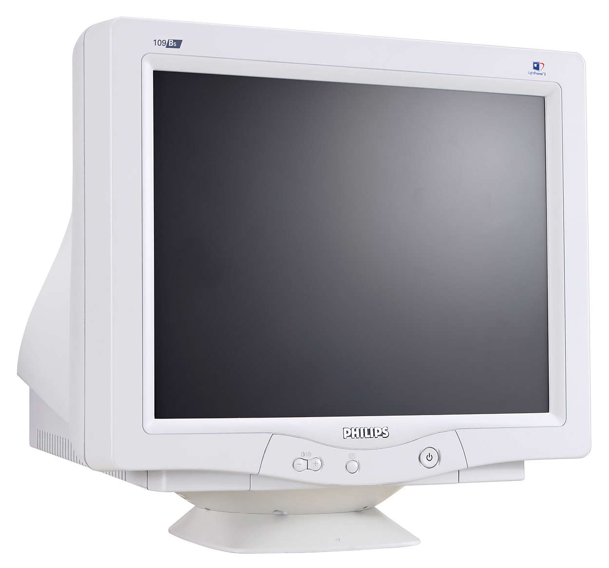 crt monitor 109b50 74 philips. Black Bedroom Furniture Sets. Home Design Ideas