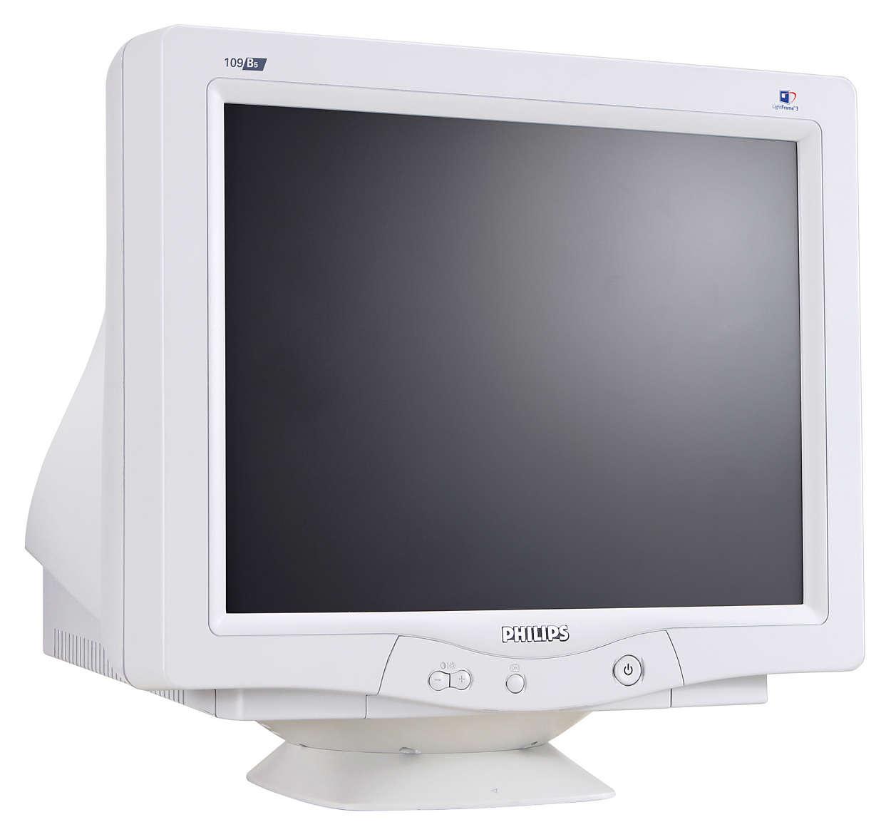 O monitor CRT ideal para a melhor diversão no computador