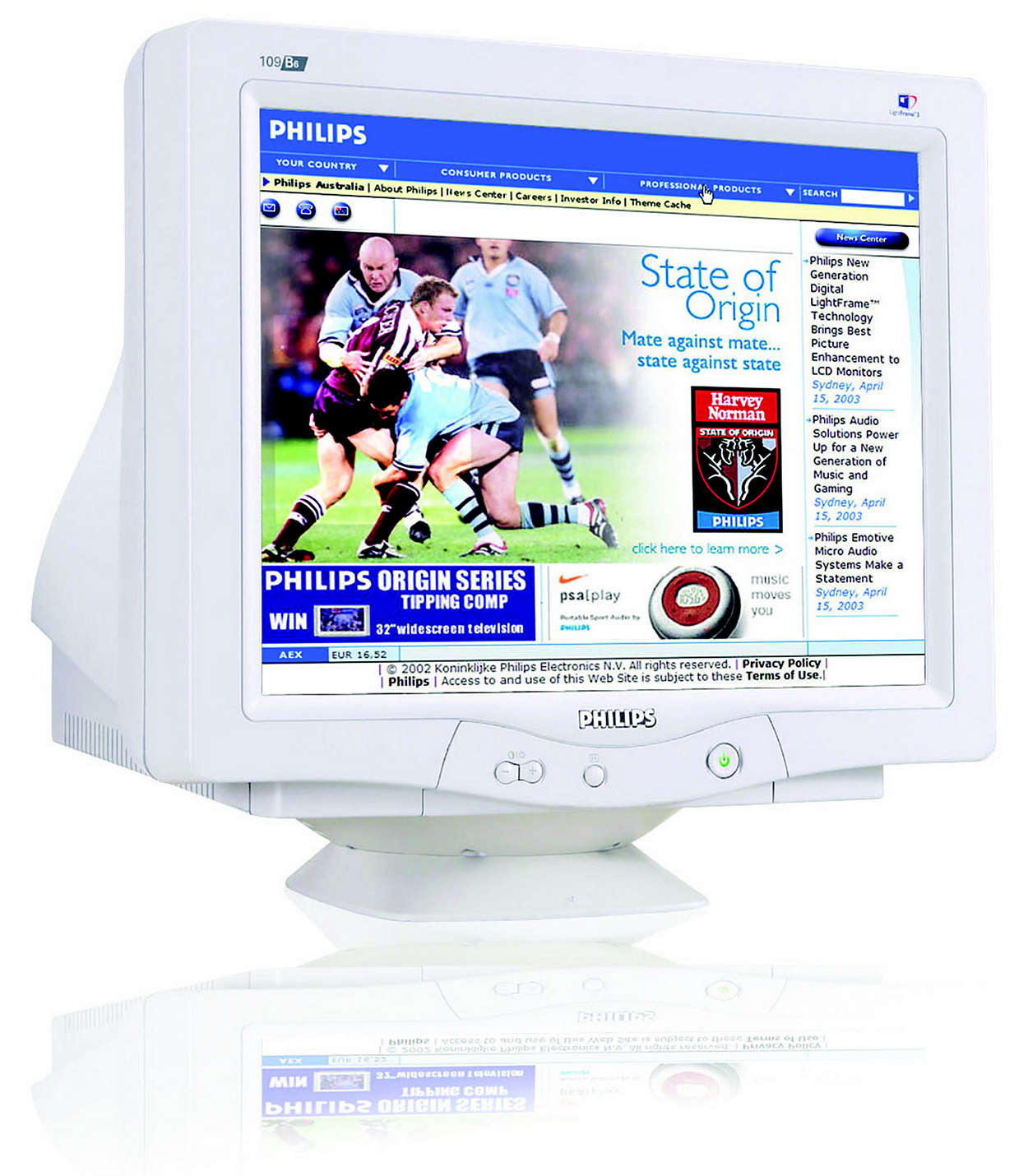 CRT monitor 109B60/05 | Philips