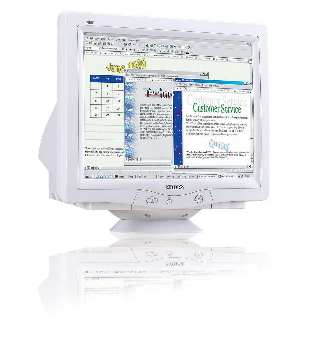 Taille d'écran et environnement: deux facteurs-clés