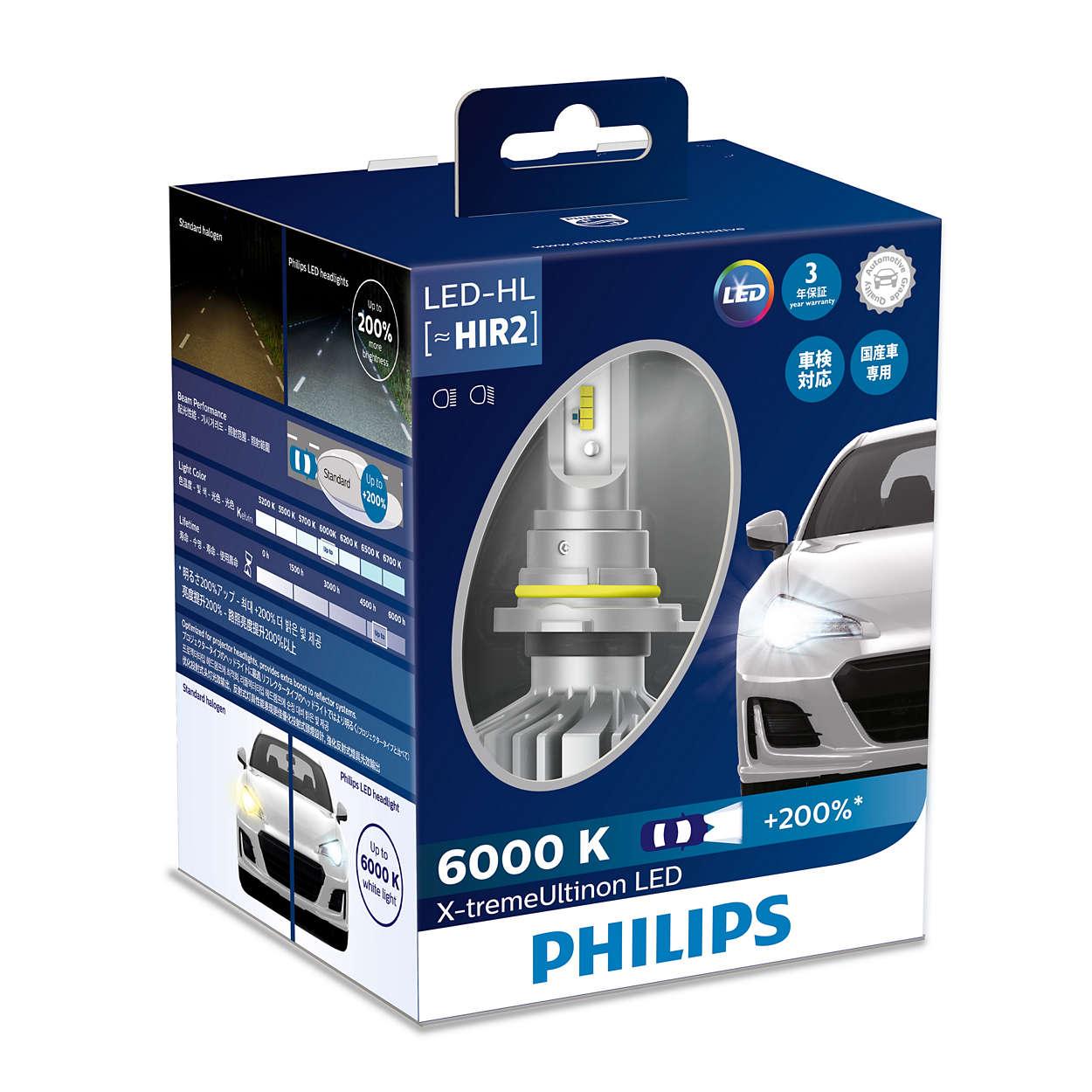 X Tremeultinon Led Headlight Bulb 11012xux2 Philips