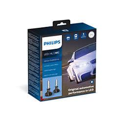 Ultinon Pro9000 med Lumileds LED til biler