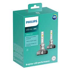 Ultinon LED lâmpadas para faróis automotivos