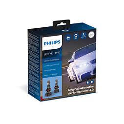 Ultinon Pro9000 พร้อมไฟ LED สำหรับยานยนต์ Lumileds สุดพิเศษ