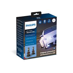 Ultinon Pro9000 cu LED-uri auto exclusive Lumileds