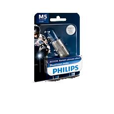 12152BVB1 BlueVision Moto Headlight bulb