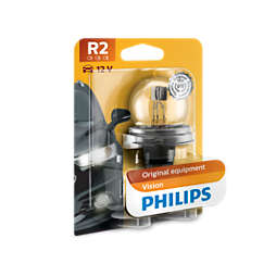 Standard car headlight bulb