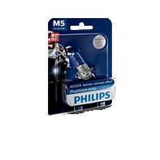 12163BVB1 BlueVision Moto Headlight bulb