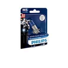 12164BVB1 -   BlueVision Moto Headlight bulb