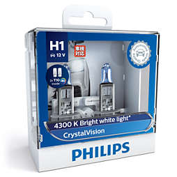 CrystalVision car headlight bulb