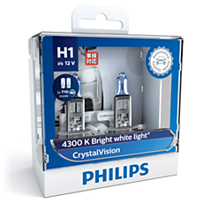 12258CVSL CrystalVision car headlight bulb