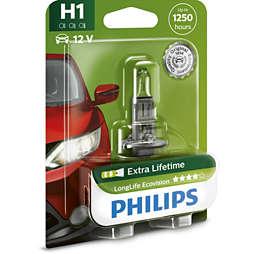LongLife EcoVision car headlight bulb