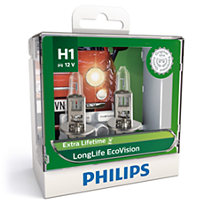 12258LLECOS2 LongLife EcoVision Headlight bulb