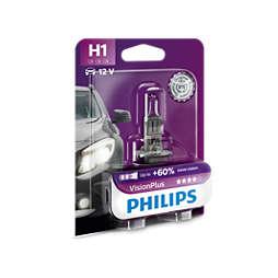 VisionPlus strålkastarlampa för bil
