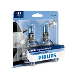 CrystalVision ultra upgrade headlight bulb