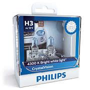 CrystalVision Bóng đèn pha