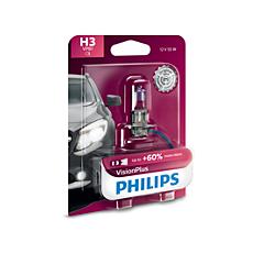 12336VPB1 VisionPlus upgrade headlight bulb