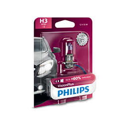 VisionPlus upgrade headlight bulb