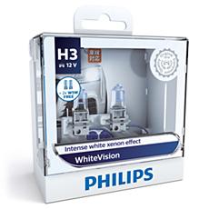 12336WHVSM WhiteVision 頭燈燈泡