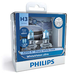 WhiteVision ultra หลอดไฟหน้ารถ