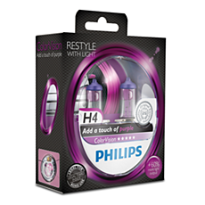 12342CVPPS2 -   ColorVision Purple car headlight bulb