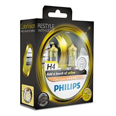 12342CVPYS2 -   ColorVision Yellow car headlight bulb