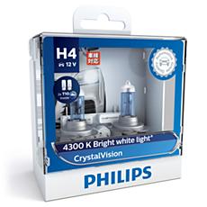 12342CVSL CrystalVision car headlight bulb