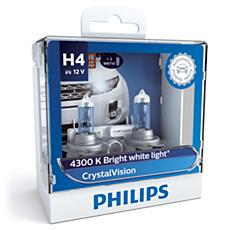 12342CVSM CrystalVision Headlight bulb