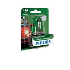 12342LLECOB1 LongLife EcoVision Bola lampu depan
