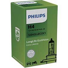 12342LLECOC1 -   LongLife EcoVision car headlight bulb