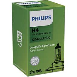 LongLife EcoVision lâmpadas para faróis automotivos
