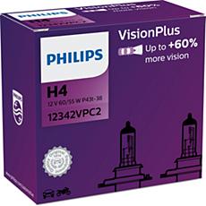 12342VPC2 -   VisionPlus Fahrzeugscheinwerferlampe