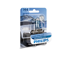 12342WVUB1 WhiteVision ultra car headlight bulb