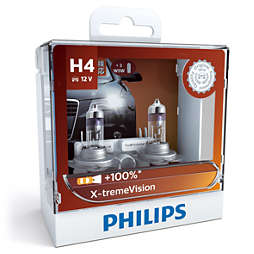X-tremeVision Headlight bulb