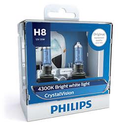 CrystalVision 車頭燈燈泡