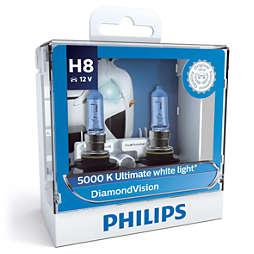 DiamondVision Bola lampu depan