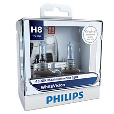 12360WHVS2 WhiteVision Headlight bulb