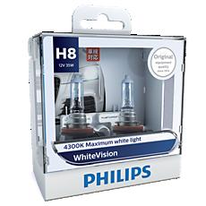 12360WHVS2 WhiteVision Bohlam lampu depan