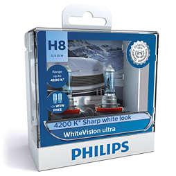 WhiteVision ultra car headlight bulb