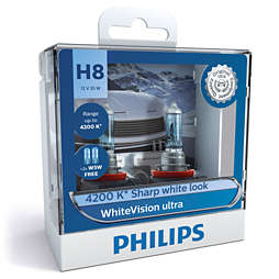 WhiteVision ultra car headlight bulb