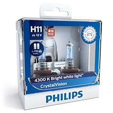 12362CVSL CrystalVision car headlight bulb